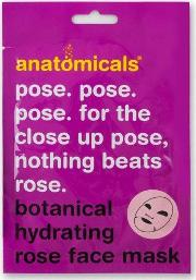 Anatomicals , Pose. Pose. Pose. For The Close Up Pose, Hydrating Face Mask