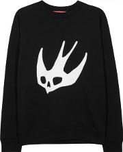 Mcq Alexander Mcqueen , X Tom Tosseyn Swallow Cotton Blend Sweatshirt Size M
