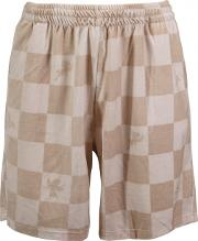 Joyrich , Boxed Check Angel Shorts Beige