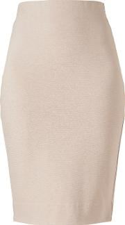 Winser London , Miracle Pencil Skirt, Beige