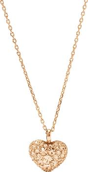 Fossil , Jf01156791 Ladies Necklace, Rose Gold