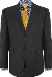 Howick Tailored , Men's  Elmont Flannel Suit Jacket, Grey