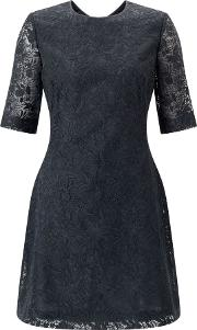 Jigsaw , Iris Lace Dress, Grey