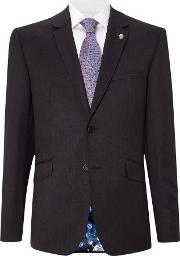 Ted Baker , Men's  Timeless Slim Fit Solid Suit Jacket, Charcoal
