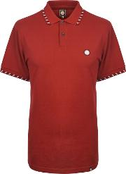 Pretty Green , Men's  Elmwood Polo, Red