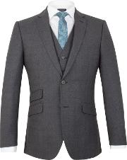 Racing Green , Men's  Moore Jaspe Check Tailored Jacket, Navy