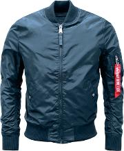 Alpha Industries , Men's  Ma 1 Tt Jacket, Mid Blue