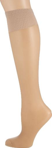 Aristoc , 2 Pair Pack 15 Denier Support Knee High Socks, Nude