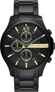 Armani Exchange , Ax2164 Mens Bracelet Watch, Black