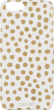 Bando , Ban.do Petite Party Dots, Iphone 6 Case, Gold