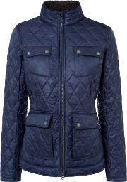 Barbour , Filey Quilted Jacket, Navy