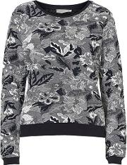 Betty Barclay , Floral Tapestry Jumper, Blue