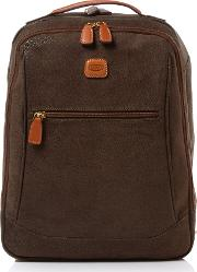 Brics , Life Olive Backpack, Olive