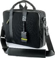 Brics , Moleskine Black Briefcase, Black