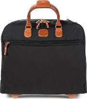 Brics , X Travel Business Briefcase Trolley, Black
