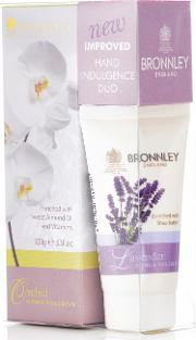 Bronnley , Pink Bouquet Hand Cream With Trial Size, Pink