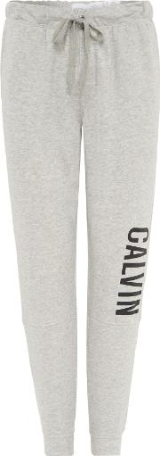 Calvin Klein , Men's  Cut And Sew Cuffed Jogger, Grey