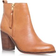 Carvela , Tanga Heeled Ankle Boot, Tan