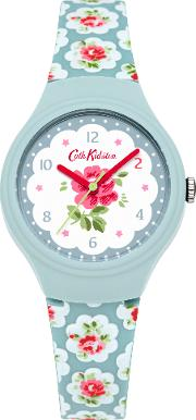 Cath Kidston , Provence Rose Watch, Blue