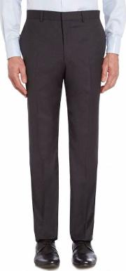 Chester Barrie , Men's  Ff Tropical Plainweave Trouser, Anthracite