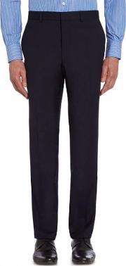 Chester Barrie , Men's  Ff Tropical Plainweave Trouser, Navy