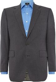 Chester Barrie , Men's  Jacket For Plain Contemporary Suit, Grey