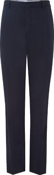 Chester Barrie , Men's  Linen Cotton Trousers, Navy
