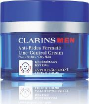Clarins , Line Control Cream For Dry Skin