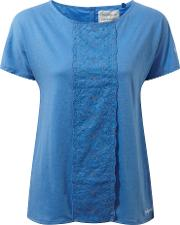 Craghoppers , Connie Short Sleeved Lightweight Top, Blue