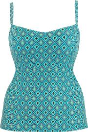 Curvy Kate , Revive Tankini, Blue