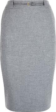 Damsel In A Dress , Hoxton Skirt, Grey