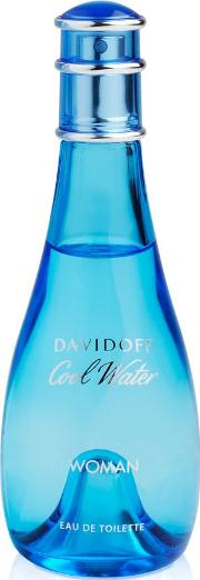 Davidoff , Cool Water Woman Eau De Toilette Spray 100ml