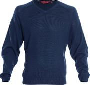 Double Two , Men's  Bar Harbour By  Sweater, Navy