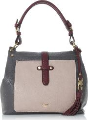 Dune , Dune Dauna Tassel Trim Hobo Bag, Grey