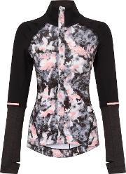 Elle Sport , Pleated Raglan Jacket With Extended Cuff, Multi Bright