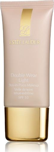 Estee Lauder , Double Wear Light Stay In Place Makeup Spf 10, No 4
