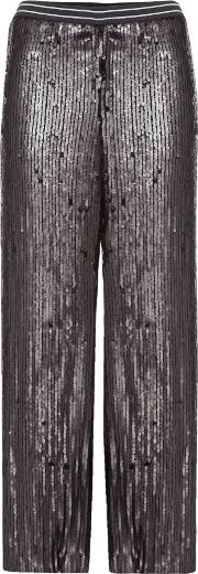 Free People , So Sexy Sequin Just A Dreamer Trouser In Black, Black