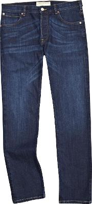 French Connection , Men's  Co Slim Fit Jeans, Dark Blue