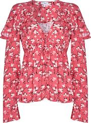 Ghost , Mia Blouse, Pink
