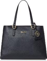 Guess , Tulip Satchel Bag, Black