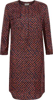 Hobbs , Kaia Tunic Dress, Multi Coloured