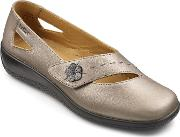 Hotter , Bliss Casual Shoes, Metallic