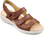 Hotter , Sophia Sandals, Tan