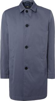 Hugo Boss , Men's  Dais Mac Coat, Smoke