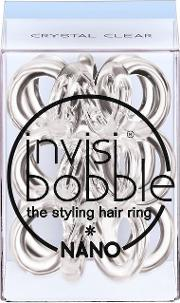 Invisibobble , Nano 3 Pack Crystal Clear