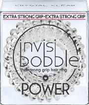 Invisibobble , Power 3 Pack Crystal Clear