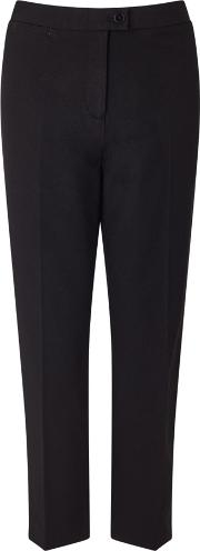 Jigsaw , Bi Stretch Cigarette Trouser, Black