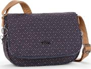 Kipling , Earthbeat Small Shoulder Bag, Mid Blue