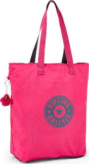Kipling , Hip Hurray 5 Large Shoulder Bag, Pink