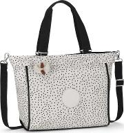 Kipling , New Shopper Large Shoulder Bag, White